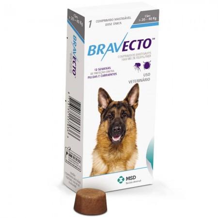 Bravecto-Anti-Pulgas-e-Carrapatos-Msd-para-Caes-de-20-a-40kg-1000-Mg