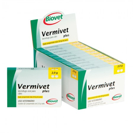 Vermifugo-Oral-Para-Caes-Vermivet-Plus