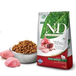 ND Adult Maxi Breeds Frango e Romã Grain Free 10,1kg